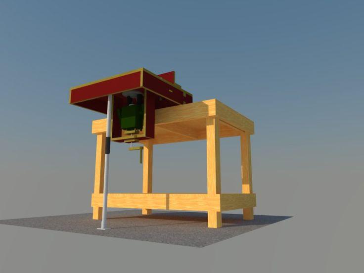 mobiler fr stisch f r pof 1400 bauanleitung zum selber bauen fr stisch pinterest fr stisch. Black Bedroom Furniture Sets. Home Design Ideas