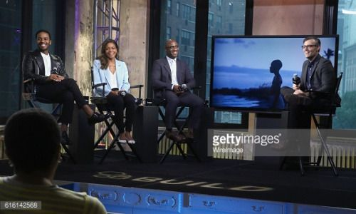 NEW YORK, NY - OCTOBER 21: Actors Andre Holland, Naomie Harris,... #enkhuizenprovincienoordholland: NEW… #enkhuizenprovincienoordholland
