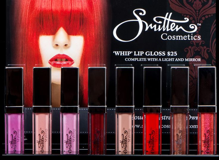 Smitten Cosmetics awesome tester display stand.