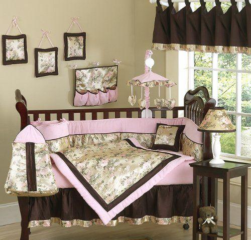 Abby Rose Pink and Brown Asian Baby Girl Bedding 9pc Crib Set by Sweet Jojo Designs Sweet Jojo Designs http://www.amazon.com/dp/B000KZ98SA/ref=cm_sw_r_pi_dp_nBJJub1R92WTX