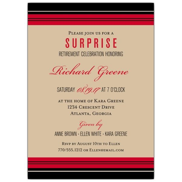 The  Best Retirement Invitation Wording Ideas On