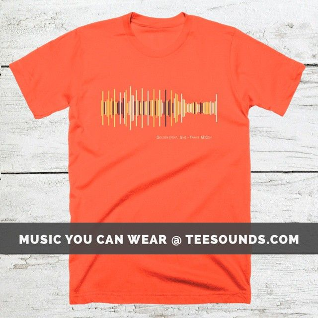 Golden by Travie McCoy  Design your own @ teesounds.com  ONLY $28 WITH FREE WORLDWIDE DELIVERY