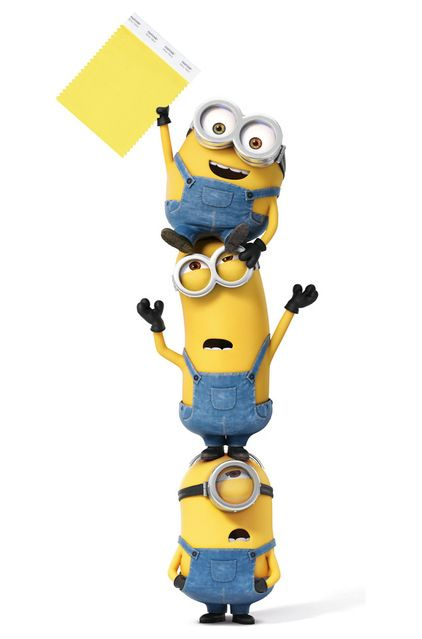 Say Hello to Minion Yellow, Pantone's Newest (and Happiest) Colour
