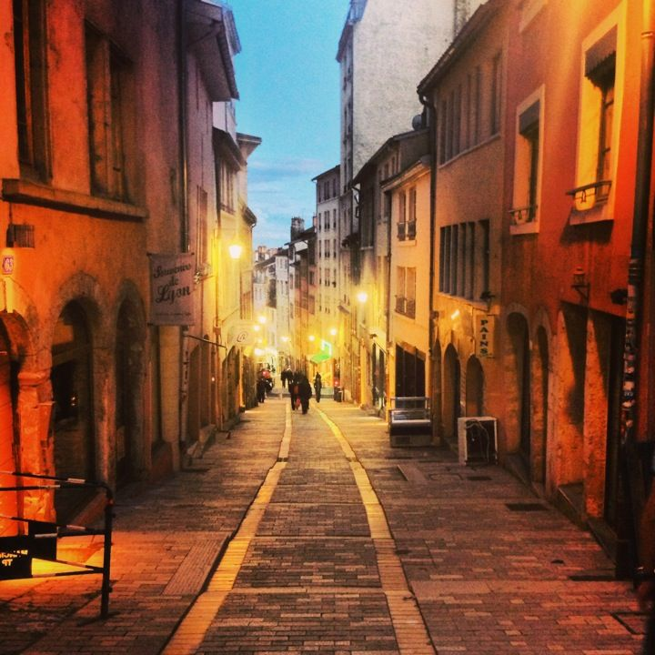 Lyon in Rhône-Alpes, France.  One of my favorite cities. Variety of architecture, large portion of nice people, cuisine, safe, atmosphere.