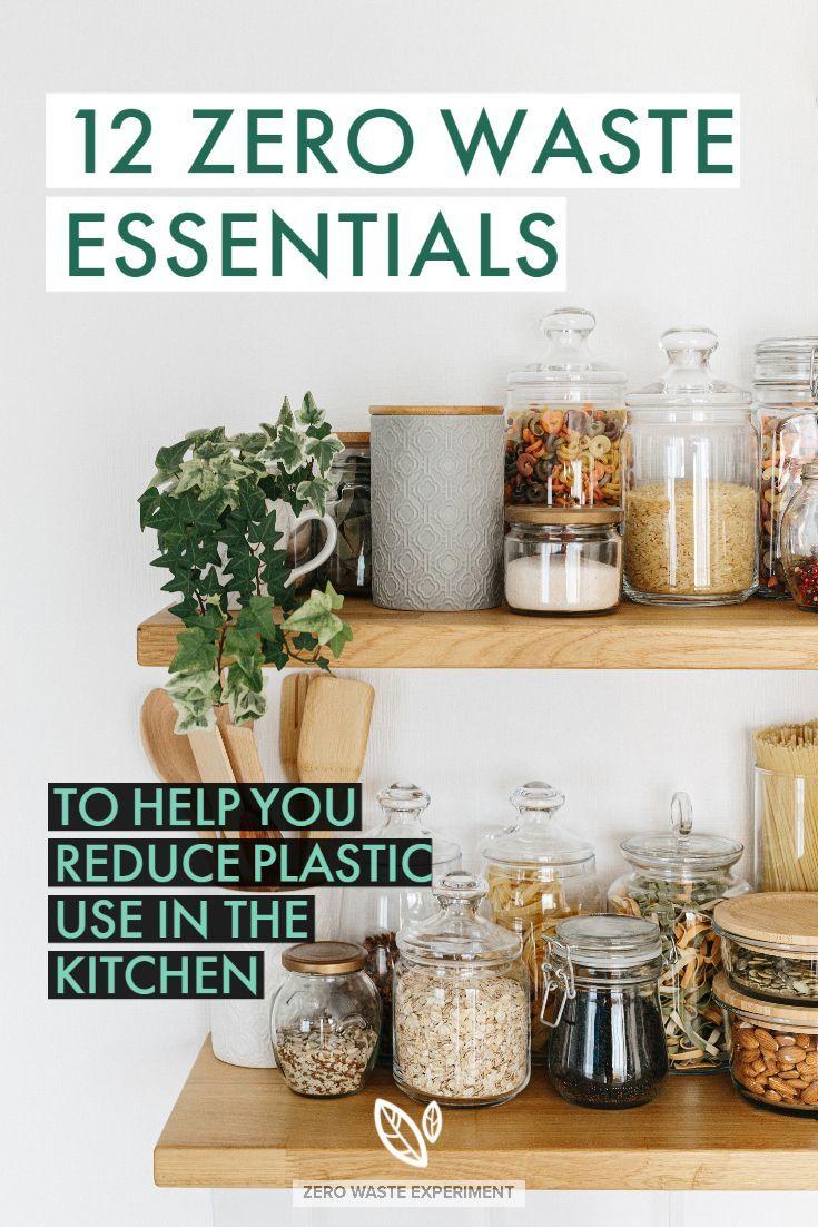 12 zero waste essentials to help you reduce plastic use in the kitchen in 2020 sustainable on kitchen organization zero waste id=31737