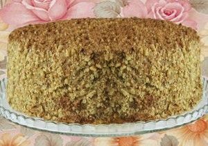 Торт бисквитный Виктория
