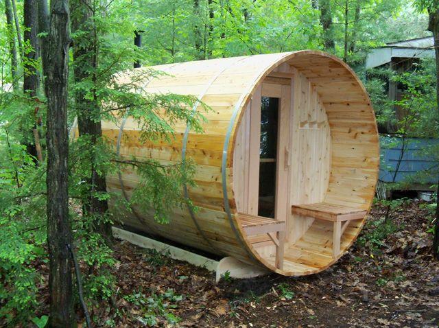 36 best hot tub ideas images on pinterest backyard ideas for Dundalk leisure craft outdoor cabin sauna