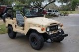 1971 Toyota Land Cruiser with Tan Bed-liner Paint Job! 3 Speed on the Column! www.selectjeeps.com