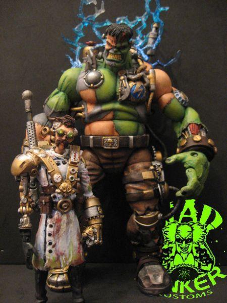 Hulkenstein (Incredible Hulk) Custom Action Figure