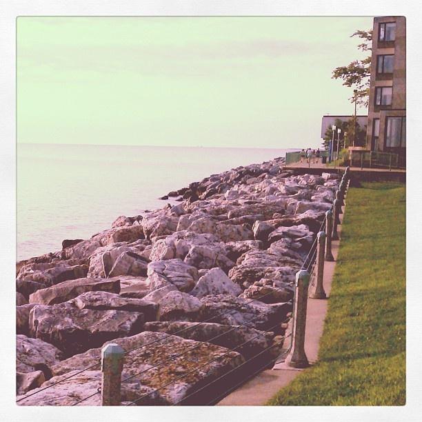 off Lake Michigan at Loyola University Chicago