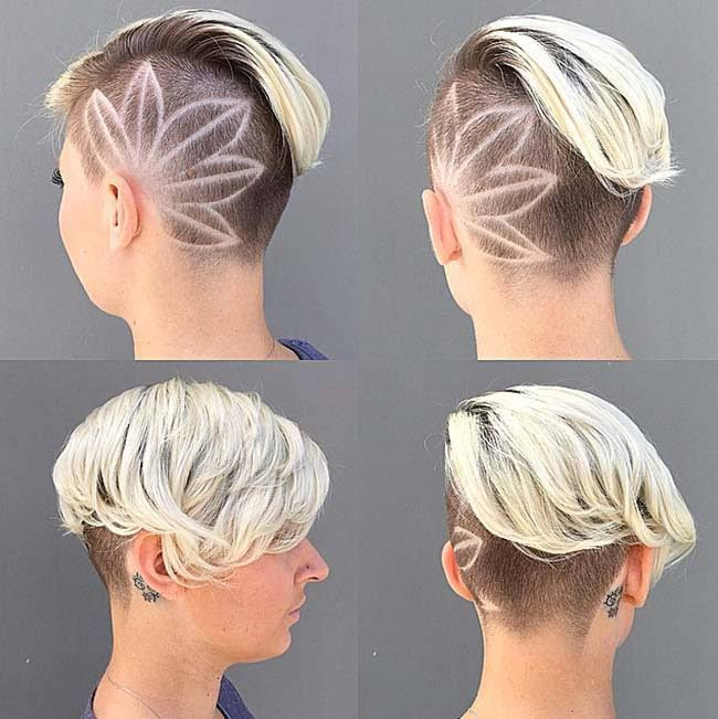 backs of haircuts 17 best ideas about undercut on 2719