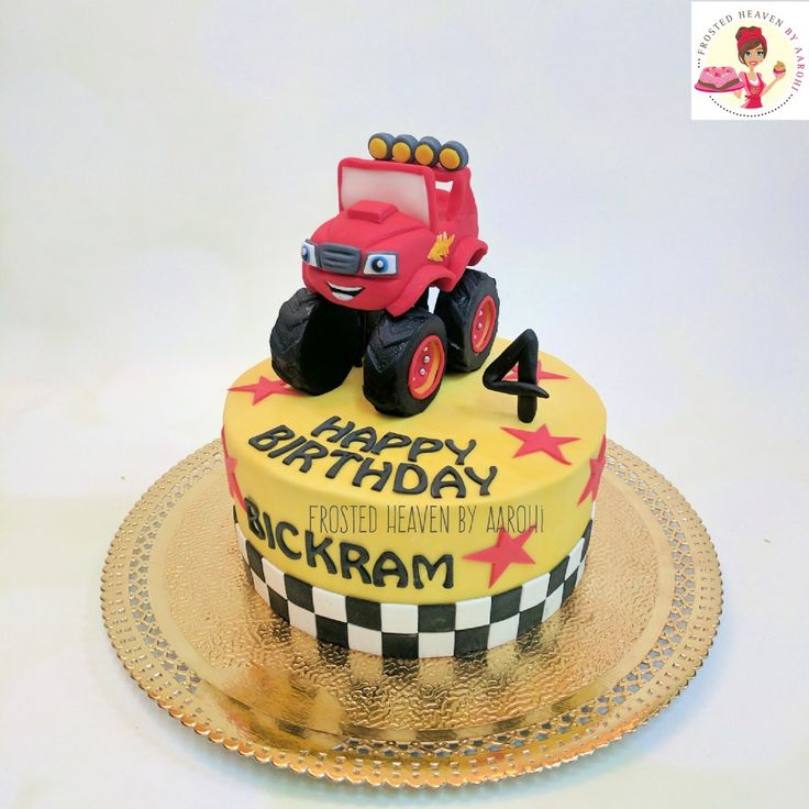Blaze the monster truck 🚛 #cake #birthday #birthdaycakes #blaze #monstertruck #blazethemonstermachine #blazethemonstertruck #kids #designercakes #cakesofinstagram #themecakes #homebaker #handmade #delhibaker #Delhi #instacute #kidscakes #cakesdorkids #instapretty #foodtalkIndia #edibleart #zocialus #zomato #frostedheavenbyaarohi