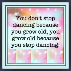 Dance Zumba and stay young
