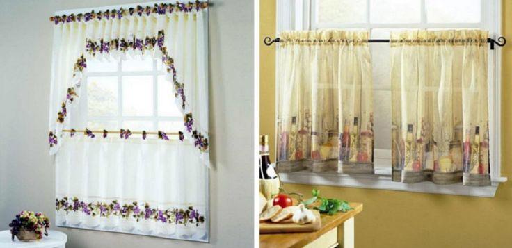 20 káprázatos konyhai függöny ötlet, amitől hangulatosabb lesz a konyhád!