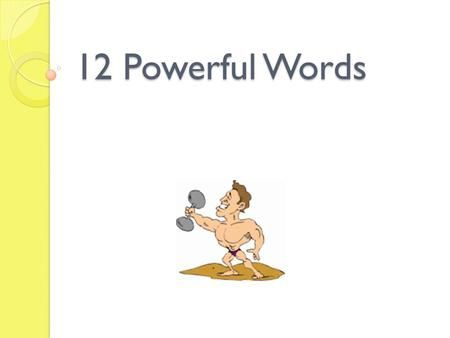 The 25+ best 12 powerful words ideas on Pinterest A resume - powerful verbs for resume