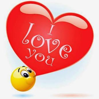 I love you emoticon.