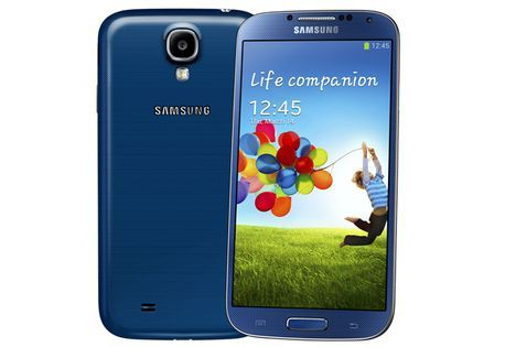 The Samsung GALAXY S4 coming soon in the new colors Blue Arctic, Purple Mirage, Red Aurora, Brown Autumn und Pink Twilight in the trade