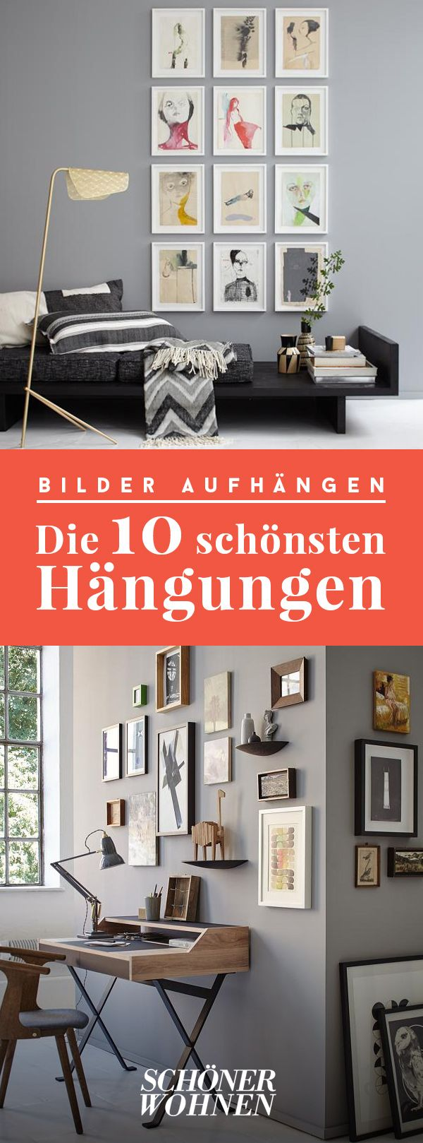 die besten 17 ideen zu bilder aufh ngen auf pinterest. Black Bedroom Furniture Sets. Home Design Ideas
