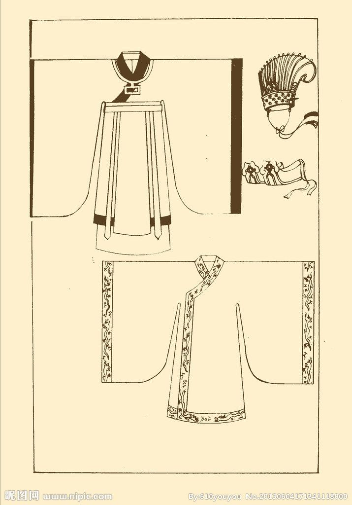 Song Dynasty court costumes enlarge Click Restore