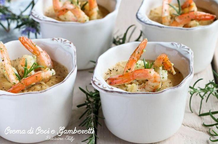 Prepariamo insieme questa Crema di Ceci e Gamberetti per un aperitivo gustoso ed elegante. Farla è davvero semplicissimo con pochi passaggi.