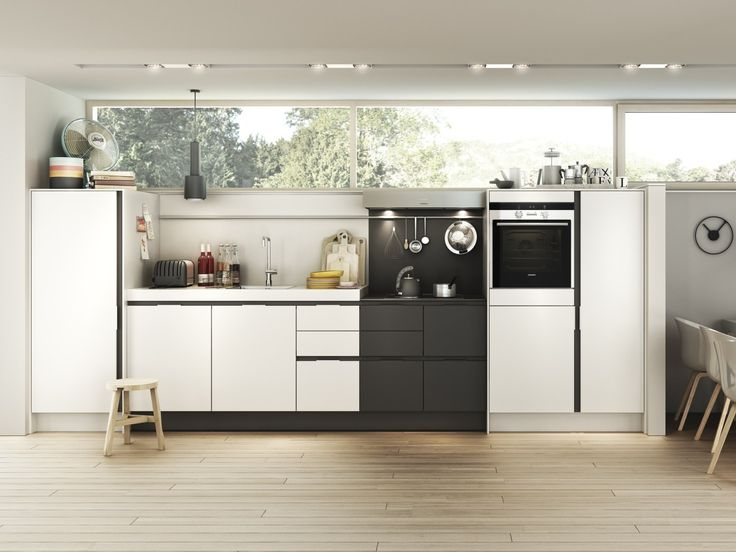 LINEAR FITTED KITCHEN WITH INTEGRATED HANDLES S3 SMARTDESIGN COLLECTION BY SIEMATIC
