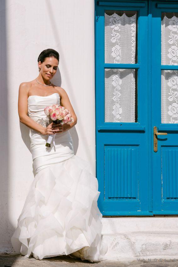 Flying to Mykonos wedding destination | the wedding of Irina+Ioan