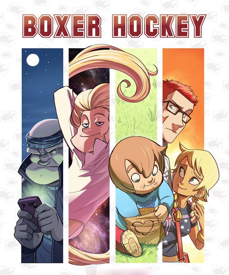 Boxer Hockey - Tyson Hesse