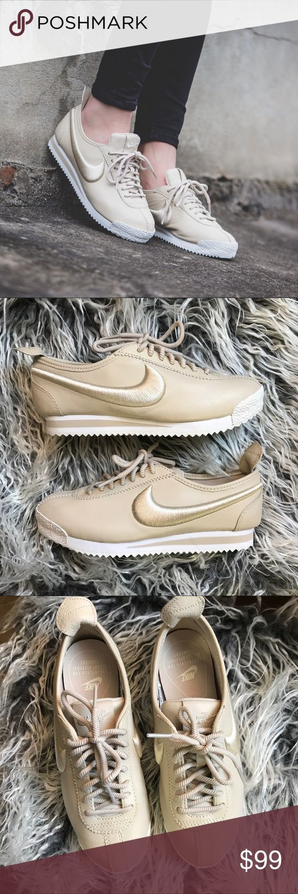 OFFER ME🔥 Nike Cortez '72 Si Brand new with the box but no lid . Oatmeal/ivory color Nike Shoes Athletic Shoes