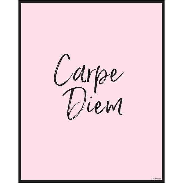 Carpe Diem Print – Rose / 9×12   – Decoração sala