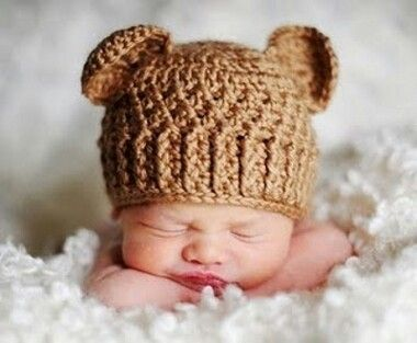 Gorro crochet bebe