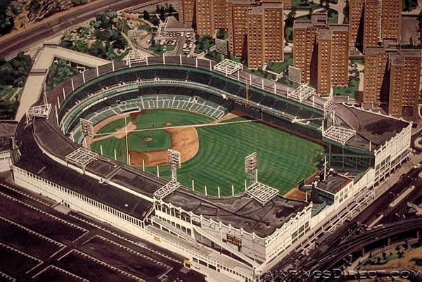 Polo Grounds (former home of New York Giants- football and baseball)