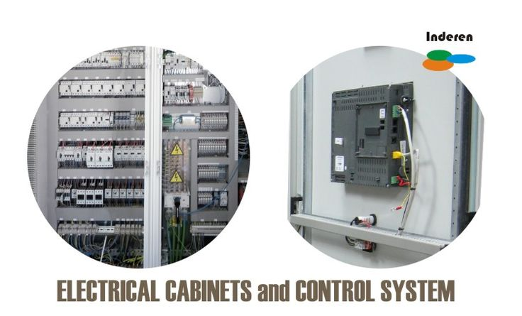 electrical cabinets and control systems for biogas plants