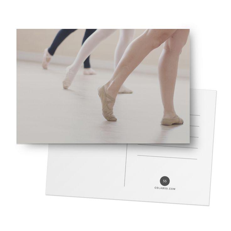 Cartão Bailarinas de @leilapsporto | Colab55