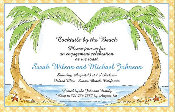 This is the perfect invitation for your destination wedding.