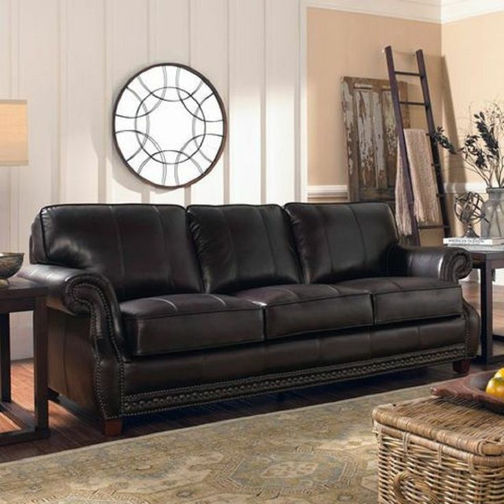 Enjoy The Beauty Of High Quality Leather In Your Living Room With This  Gorgeous Anna Leather Sofa. Upholstered In US Cowhide, This Stunning Sofa  Enriches ...