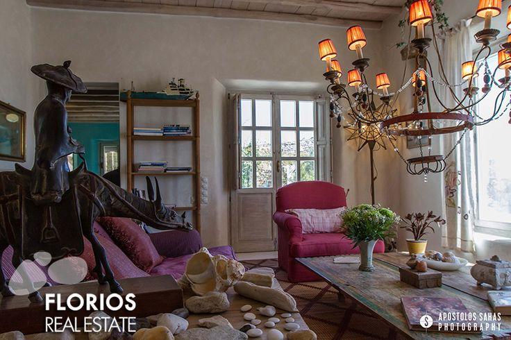 The exquisite decoration of this amazing villa foe sale will meet the most demanding taste! FL1494: Villa for Sale on Mykonos island Greece (6 b/r – 6 baths) http://www.florios.gr/en/Villas-For-Sale-Mykonos-Island-Greece.html