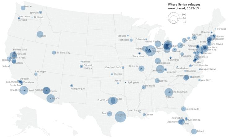 "Doug Ross @ Journal: IMPORTING ISIS: See Where Obama Is Resettling Syrian ""Refugees"" in the United States"