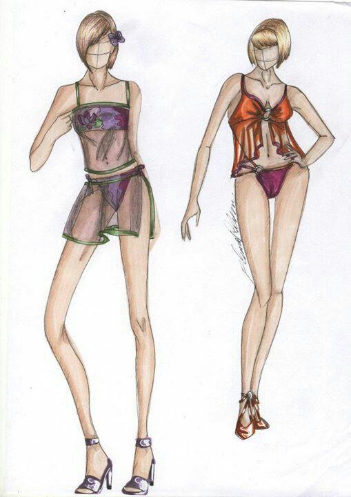 Costumi e copri costume trasparenti