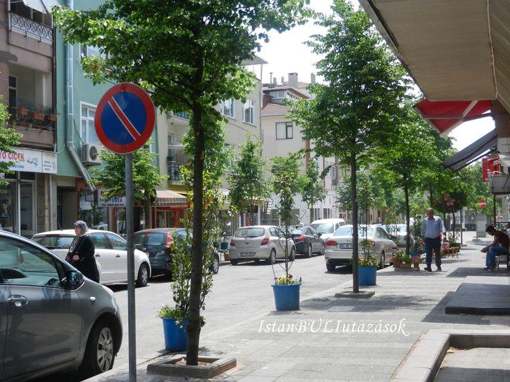 Gülten fodrász üzletének utcája