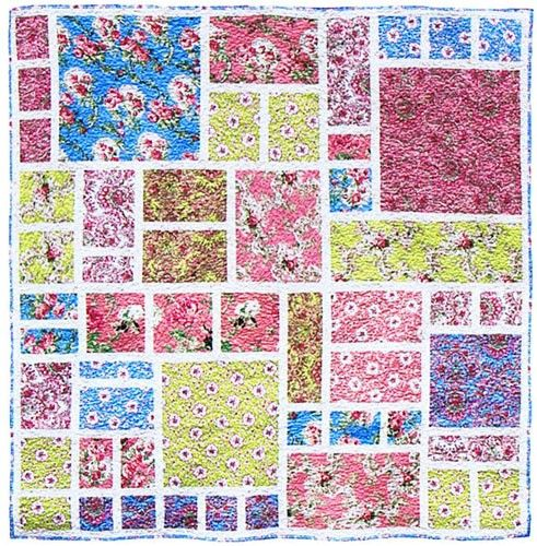 Modern Quilt Patterns For Large Prints Cafca Info For