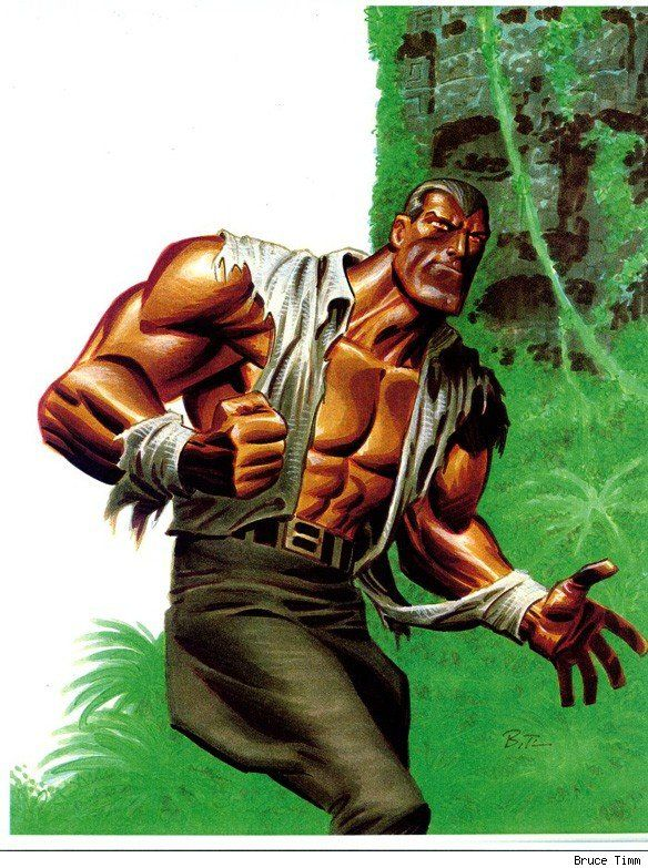 Doc Savage by Bruce Timm