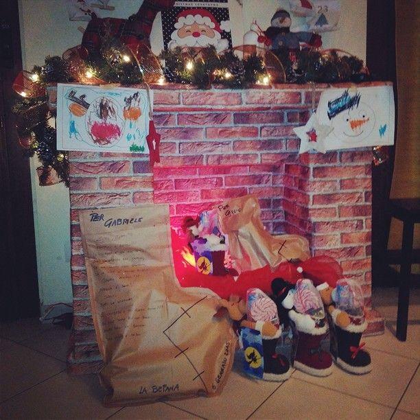 Il camino di Natale