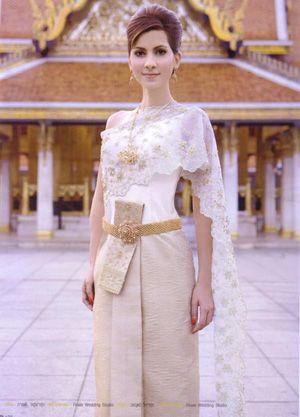 ชุดไทยแต่งงาน สวยงามมากๆค่ะ