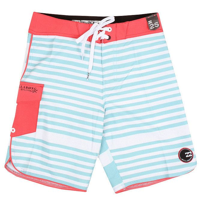 Billabong know hows to do a board short, and these Boys' Strike Stripe Board Shorts ($45) are cool enough to wear in and out of water.