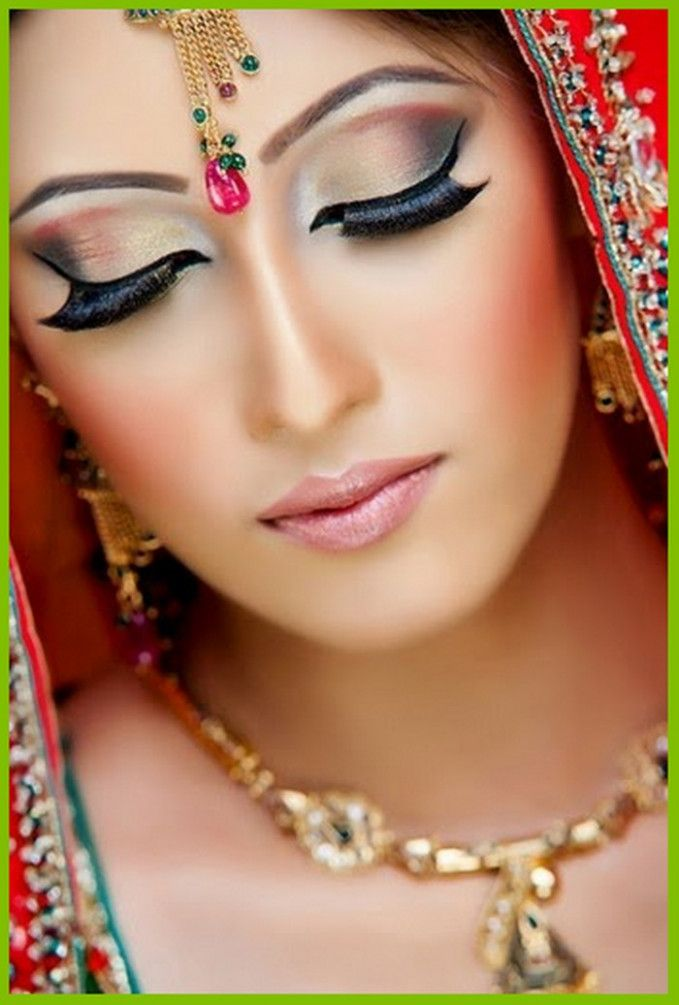 pakistani bridal makeup 2016 tips and ideas2 #WeddingJewelry #PakistaniEyeMakeup
