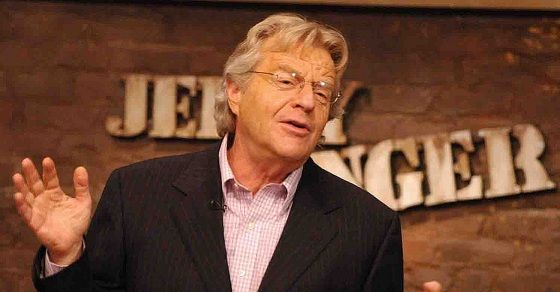 Jerry Springer: I will stop using the word 'tranny', it's offensive