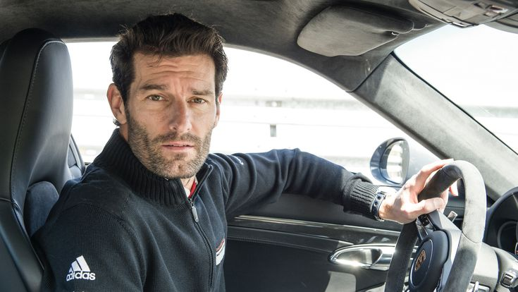 Mark Webber, Porsche factory driver, Porsche test track in Weissach © Dr. Ing. h.c. F. Porsche AG