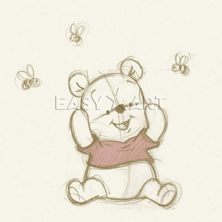 Pooh with Bees