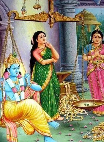 A tulasi herb is equal to lord Krishna