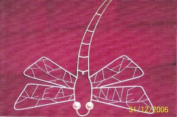 Dragonfly .. personalized